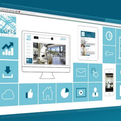 ateliers-lofts-dashboard - web - social - média