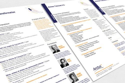Arctus - programme pédagogique